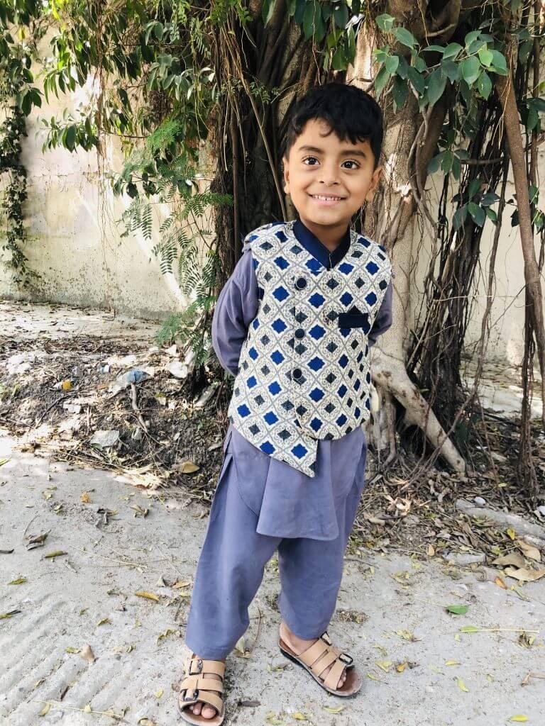 Daim Ali Support a child
